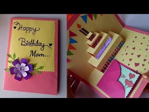 Xxx Mp4 DIY Cake Pop Up Card For Birthday DIY Birthday Day Card 3gp Sex