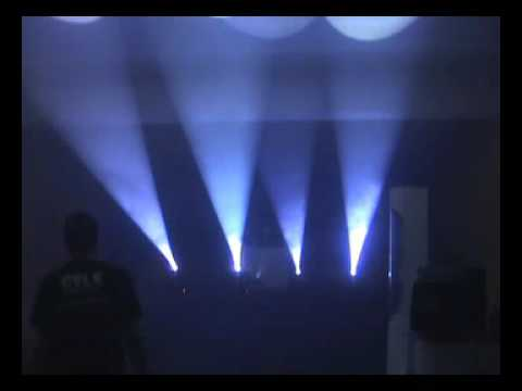 EVOLUZSOM WWW.SOMLUZ.COM O MOVING HEAD ECOLUME HTI 150 DMX FreeStyler DMX RICARDO AUGUSTO