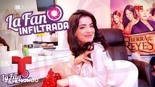 Daniela Navarro habla de sus secretos de belleza   La Fan Infiltrada   Entretenimiento