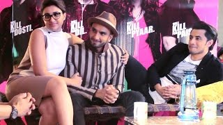 Ranveer Singh, Parineeti Chopra, Ali Zafar Exclusive Interview | Latest Bollywood movie Kill Dil