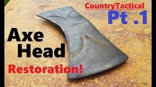 Restoring a vintage Axe head | True Temper | Part 1