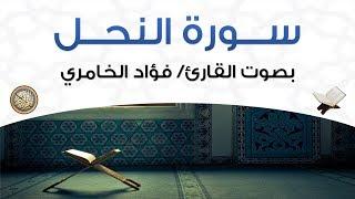 سورة النحل بصوت القارئ فؤاد الخامري