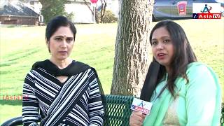 Bollywood Actress Meenakshi Seshadri paying tribute to Actress Sridevi - iAsia TV