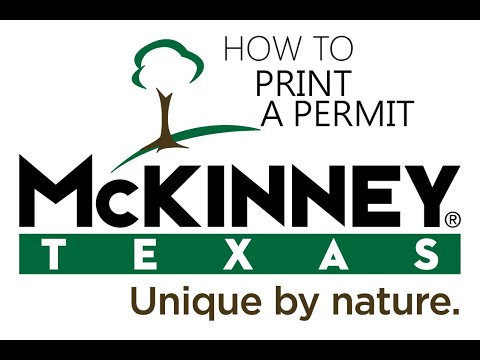 CSS Printing Permits