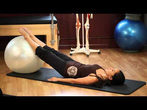 Upside Down Pilates Exercise Ball Lesson 53 Full 30 Minute Pilates Workout HD
