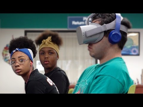 Xxx Mp4 WATCHING VR PORN IN THE LIBRARY PRANK 3gp Sex