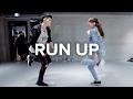 Run Up Major Lazer Feat PARTYNEXTDOOR Nicki Minaj Bongyoung Park Choreography mp3