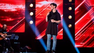 Vlado's performance of Taylor Swift's 'Wildest Dreams' - The X Factor Australia 2016