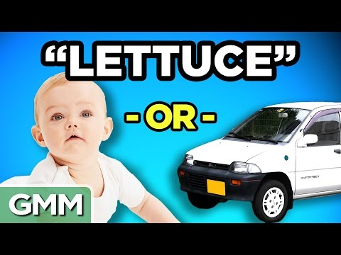 Celebrity Baby or Car Name GAME