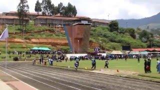 Stanes Coonoor Inter Girls Inter schools 4 X 400 Meter Relay 2015 Champions