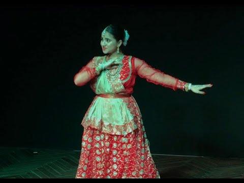 Bhool Bhulaiyaa - MERE DHOLNA SUN / AMI JE TOMAR || Kathak by Komal Malhotra