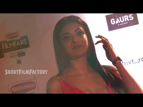 Kajal Aggarwal $hot and $sexiest Show   Kajal Hot and Sexiest Photo Shoot