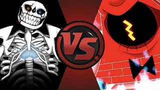 ULTRA SANS vs BILL CIPHER! (Undertale vs Gravity Falls) Cartoon Fight Club ULTIMATE QUESTION