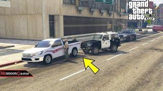مودات الشرطة + وشاحنات وغيرها  بالاون لاين لايفوتك حماس قراند GTA 5