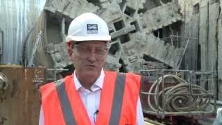Crossrail Tunnelling: Completion of running tunnels in Docklands & southeast London
