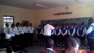 Nkgopoleng secondary  school gospel choir