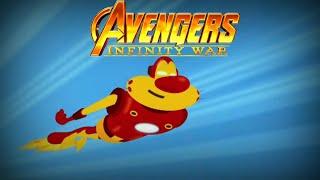 Avengers : infinity war in Hindi//oggy//
