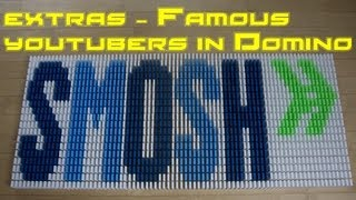 Extras - Famous YouTubers in Dominoes
