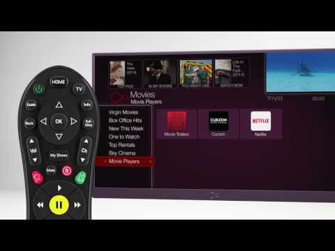 How to Search for a Show on Virgin TV V6 box