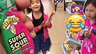 Hunting WARHEAD Super Sour Spray & Drop  !!! di PIK Jakarta VLOG10