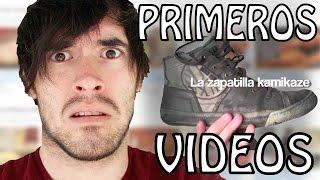 MIRANDO MIS PRIMEROS VIDEOS! - Hola Soy German (JuegaGerman)