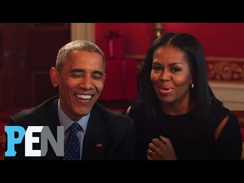 President Obama & Michelle Obama Answer Kids Adorable Questions PEN Entertainment Weekly