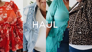 PLUS SIZE HAUL | MASSIVE LONDON SWAG TRY ON FT. ASOS CURVE, ZARA, SIMPLY BE, ELVI + MORE