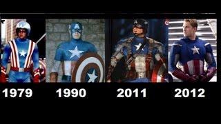 Captain America Movies. 1944-1979-1990-2011-2012 [Compilation movies]-Capitan america