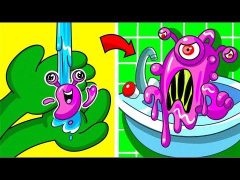 Hatchimals VS Play Doh Cartoons