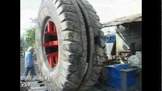 Dump Tire Cutter TR