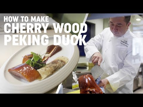 How to Make, Cherry Wood Peking Duck, With Chef Tong of HKK