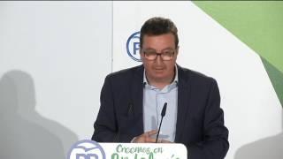 Moreno asistió al comité ejecutivo del PP en La Palma