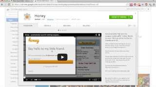 Honey Chrome Extension - Save Money in Seconds