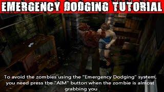 Resident Evil 3 - Emergency Dodging Tutorial
