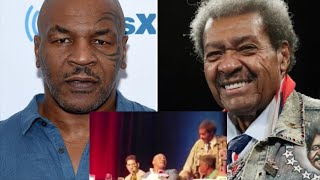 Mike Tyson ALMOST LOSES IT On Don King At The Boxing Hall OF Fame Press Conference!