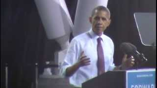 President Barack Obama in Milwaukee (Part 2 of 2) (September 22nd, 2012)