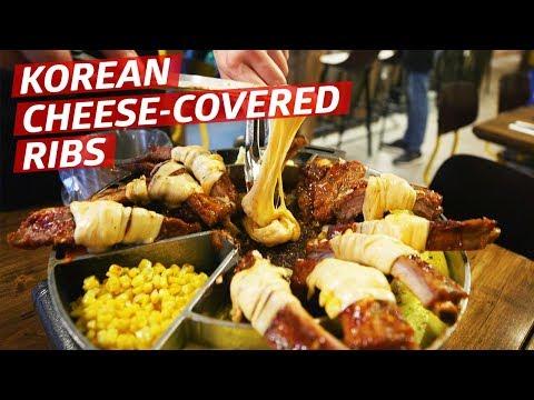 Xxx Mp4 Is Covering Korean Pork Ribs In Melted Mozzarella A Good Idea —K Town 3gp Sex