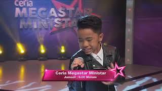 Ceria Megastar Ministar Minggu Ke-2 | Johan, Nabil, Pak Nil, Mas Idayu