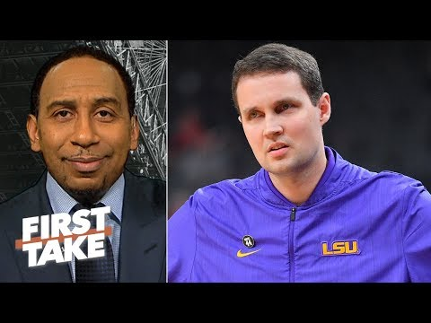 Stephen A. calls LSU s Will Wade the biggest fool on the planet for FBI wiretaps First Take