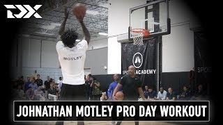 Johnathan Motley Catalyst Sports Pro Day Workout Video and Interview