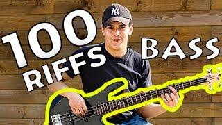 100 Riffs (A Brief History of Rock N' Roll) - Bass