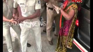 Clash Between BJP Workers & Police in Rayagada