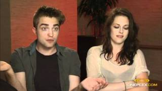 Robert Pattinson and Kristen Stewart Interview For Breaking Dawn Part 1