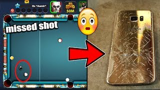 Player misses last shot in 8 Ball Pool. What he did next might shock you...