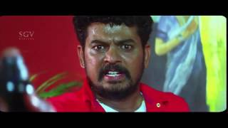Ragini IPS Kannada Movie Scene - Narayana Swamy Forced On Bed With Ragini Kannada Scenes