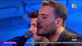 Reik - Ya Me Entere - presenta en Primero Noticias Des Amor - Primero Noticias Noticieros Televisa