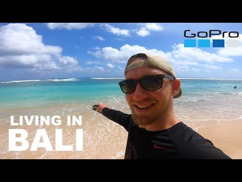 Living in BALI INDONESIA A Day in The Life with Conner Sullivan GoPro