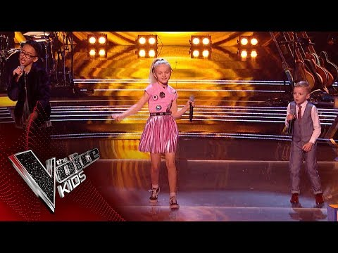 Xxx Mp4 Shaney Lee Jimmy Rey And Lilia Perform ABC Battles 1 The Voice Kids UK 2018 3gp Sex