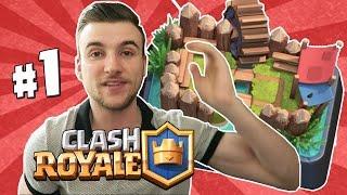 [ Clash Royale ] MON NOUVEAU LET'S PLAY !! Première Épique !