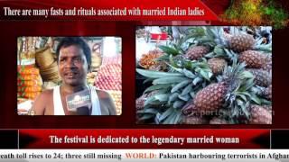Bhubaneswar market gear up for Savitri Puja